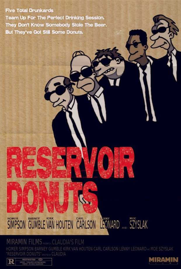 reservoir dogs simpsons