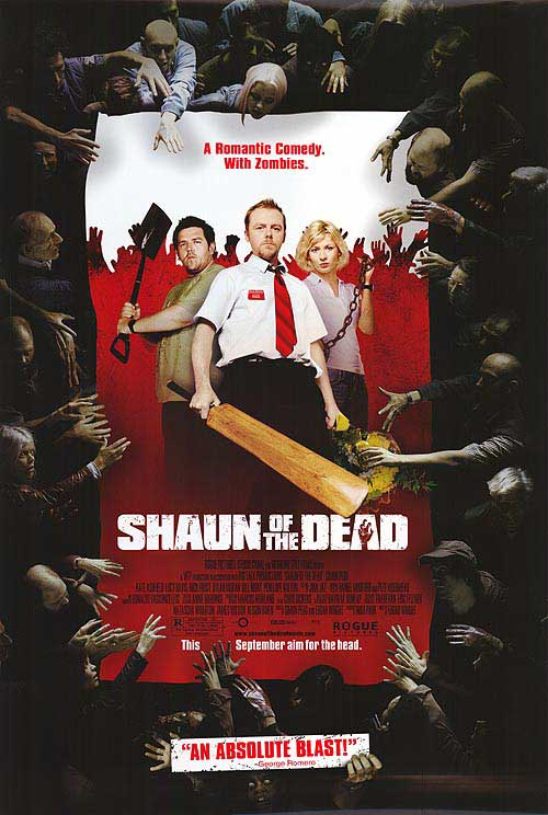 shaun of the dead zombies party