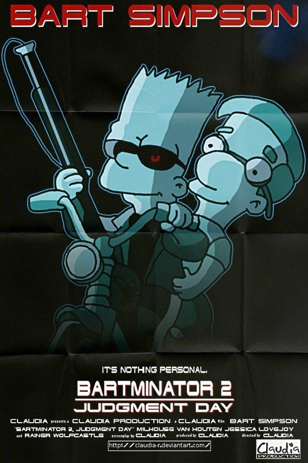 terminator 2 los simpsons