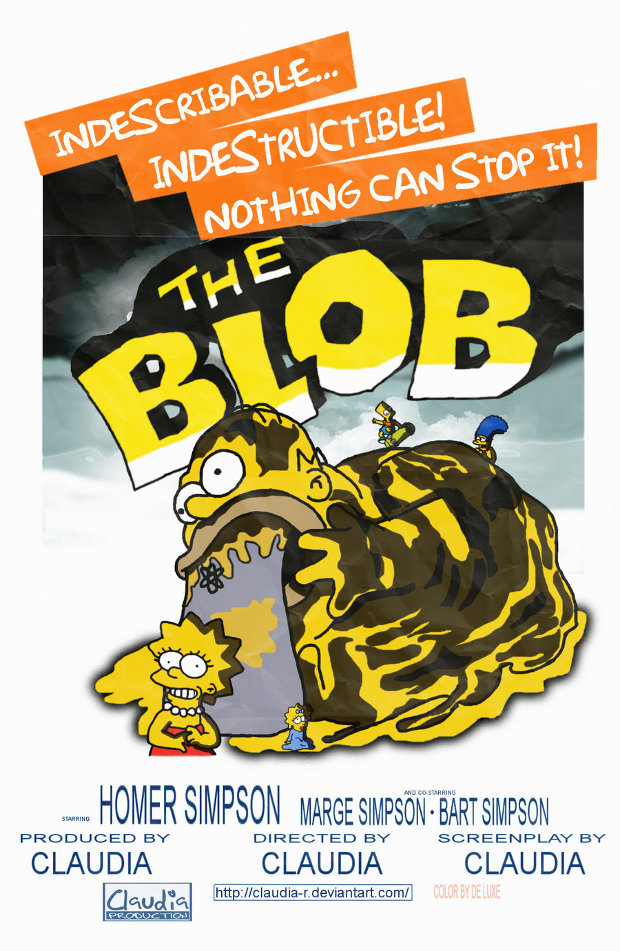 the blob masa devoradora simpsons