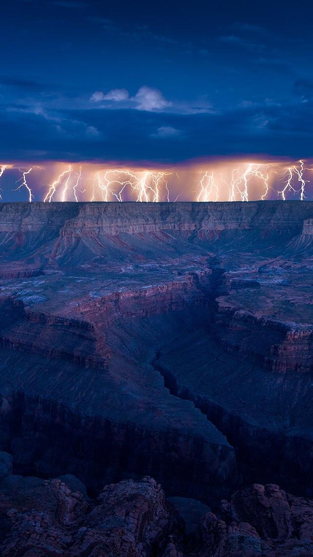 tormenta electrica gran canon colorado
