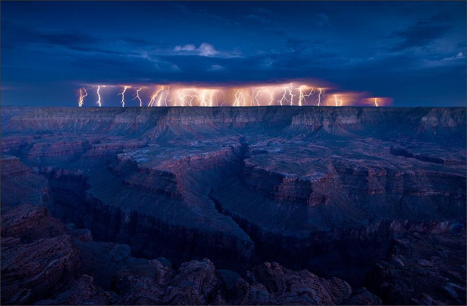 tormenta electrica gran canon monzon