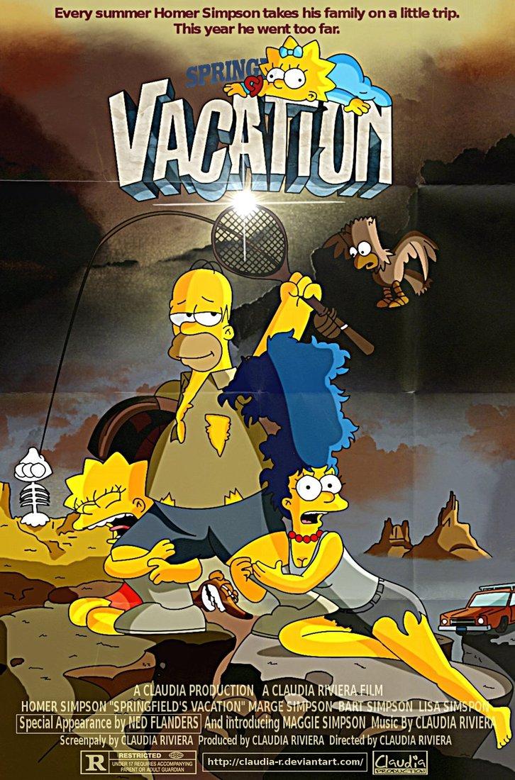 vacation vacaciones chiflada familia americana simpsons