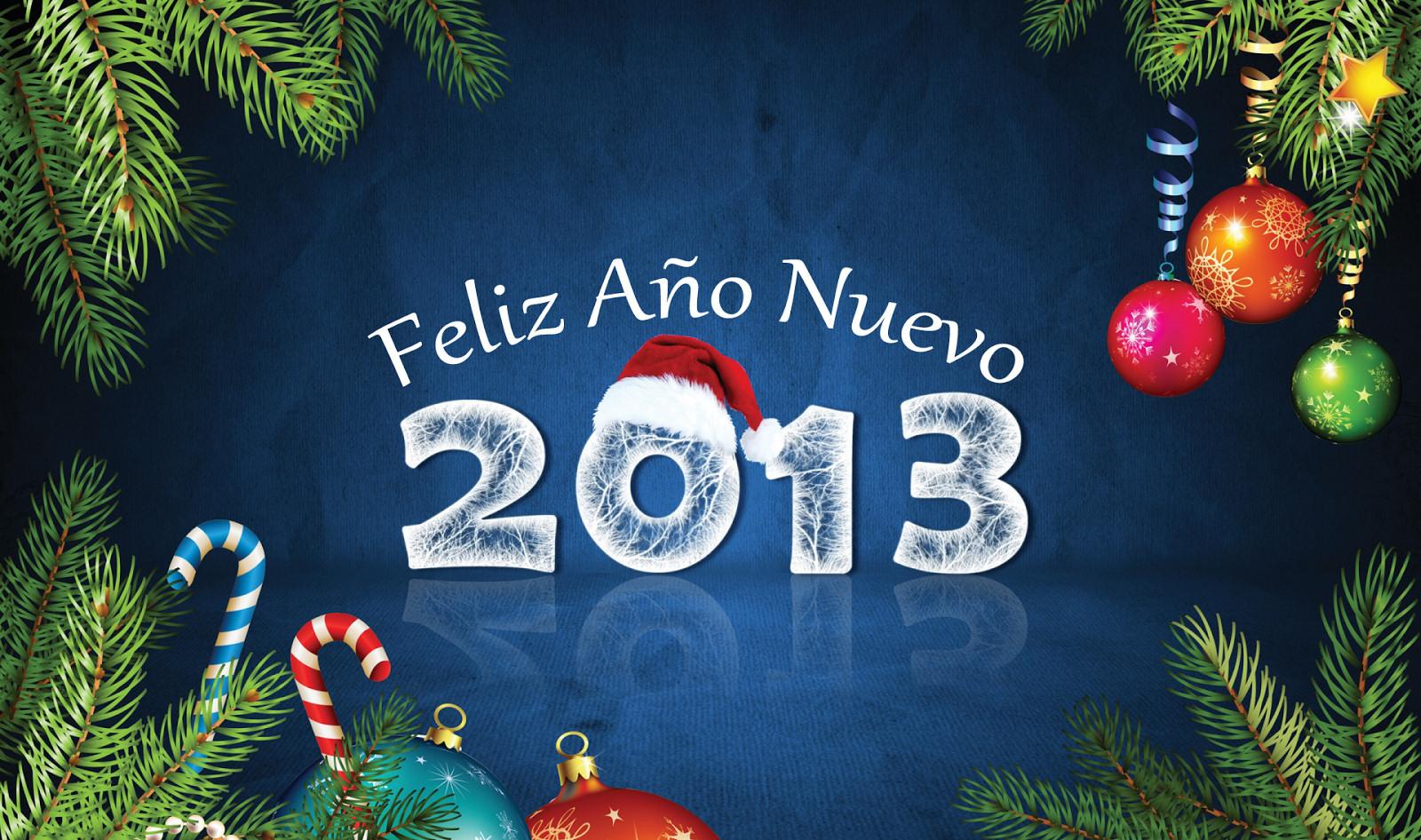 2013 feliz ano nuevo