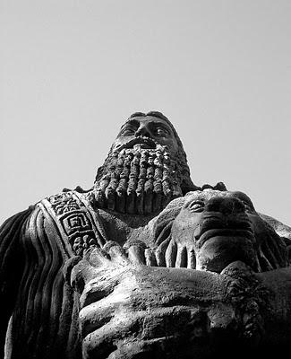 Gilgamesh estatua
