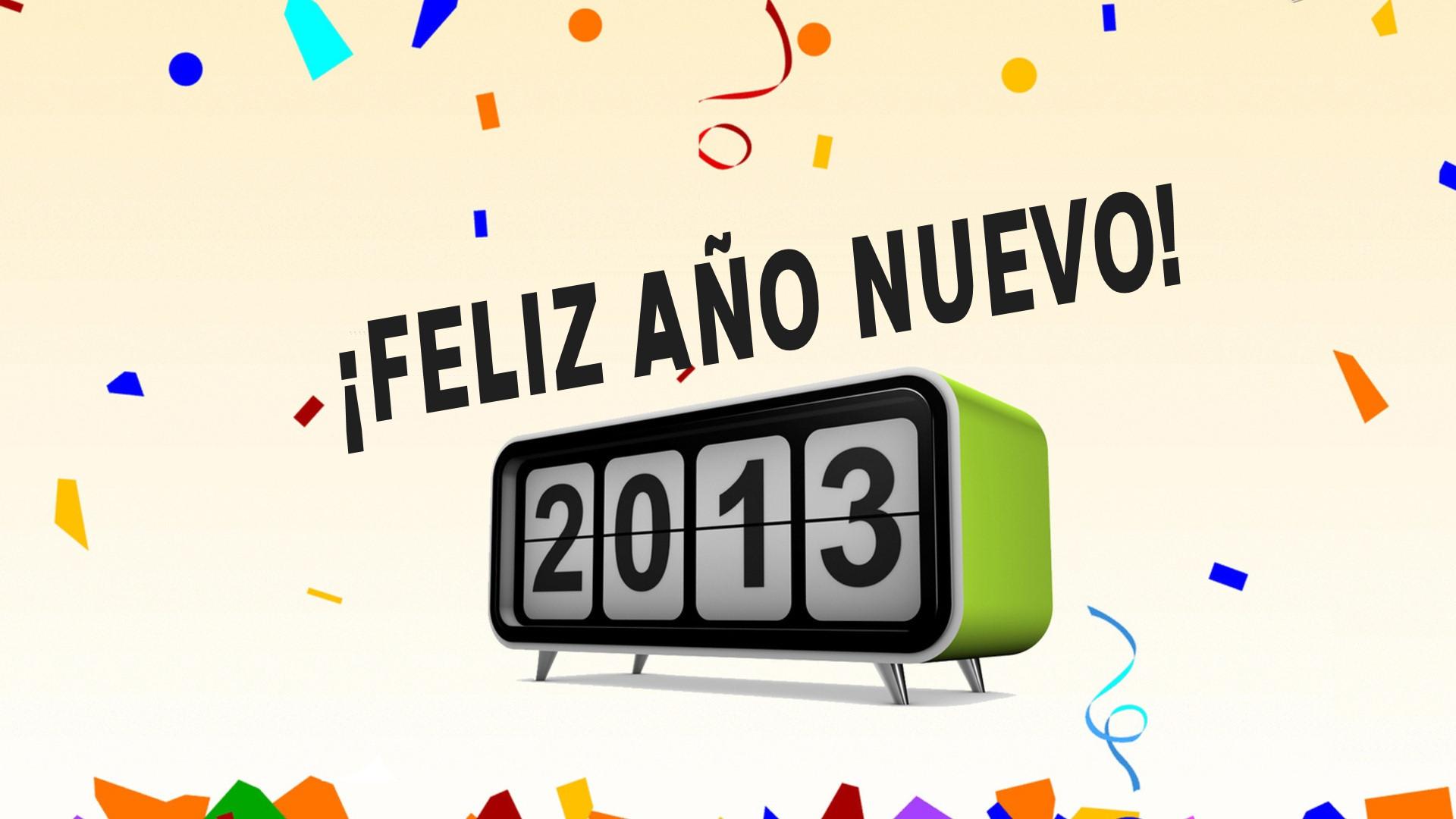 ano nuevo 2013