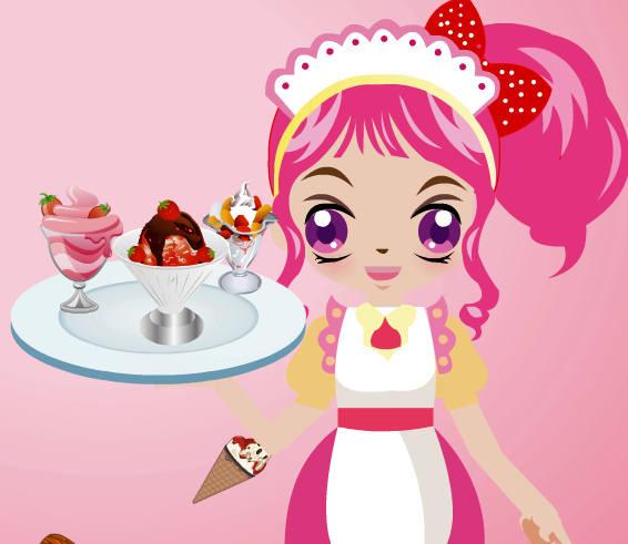 camarera-heladera