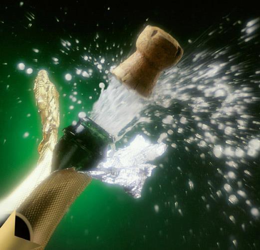 descorchar champan