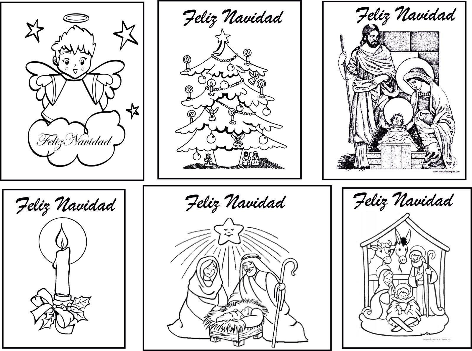 dibujos navidad colorear 06