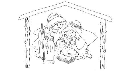dibujos navidad colorear 07