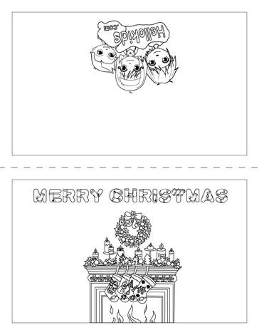 dibujos navidad colorear 11