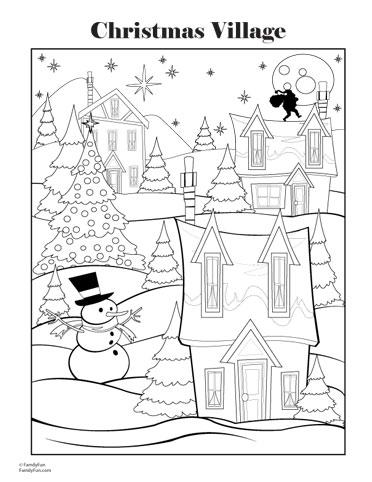 dibujos navidad colorear 12