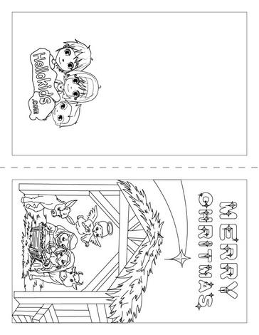 dibujos navidad colorear 13