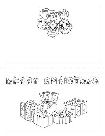 dibujos navidad colorear 14