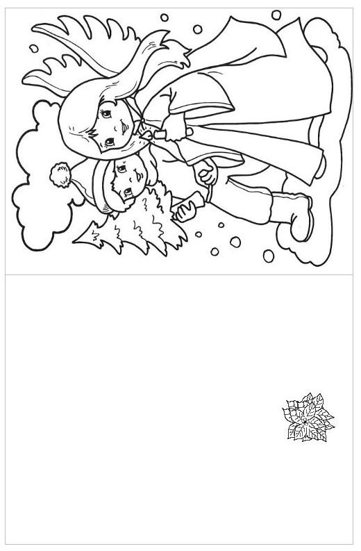 dibujos navidad pintar 02