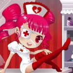 Enfermera de hospital con gustos manga