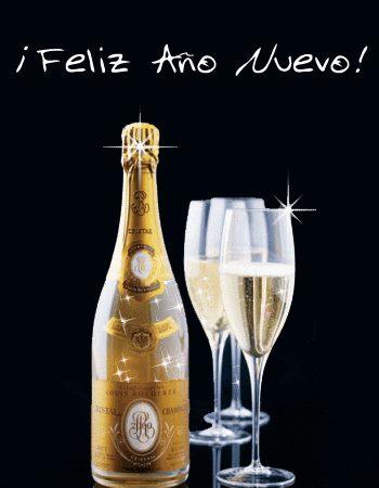 feliz ano nuevo brindis
