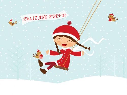 feliz ano nuevo fiestas