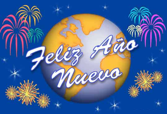 feliz ano nuevo mundo