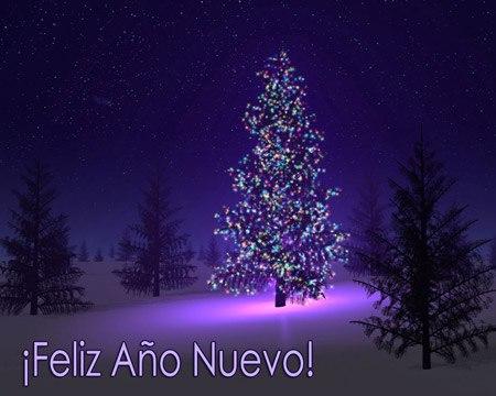 feliz ano nuevo navidad
