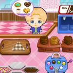 Juego de cocinar pasteles y donuts