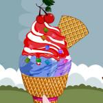 Juego para preparar cucuruchos de helado