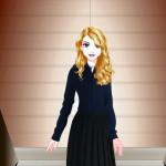 Juego de vestidos y maquillaje para la estudiante