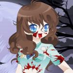 Juego de vestir a la chica zombi