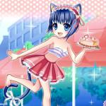 Juego de vestir a la camarera gatita Chu Chu