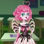 Juego de vestir a la cupido de Monster High