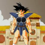 Juego de vestir personajes de Dragon Ball