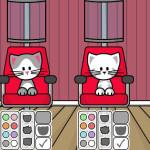 Peluquería y complementos para gatitos modelo