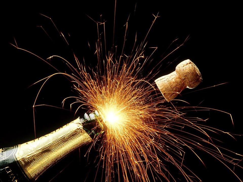 nochevieja champan