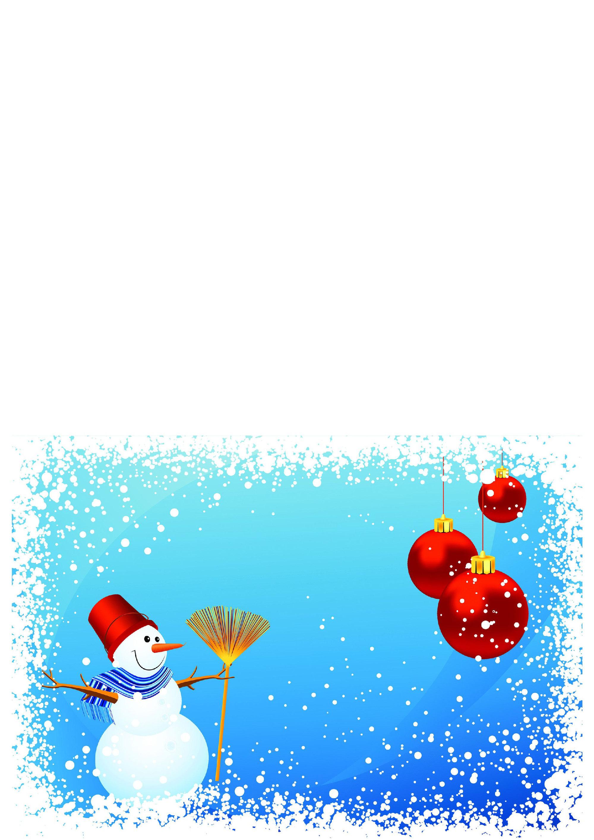 postales navidad imprimir 2