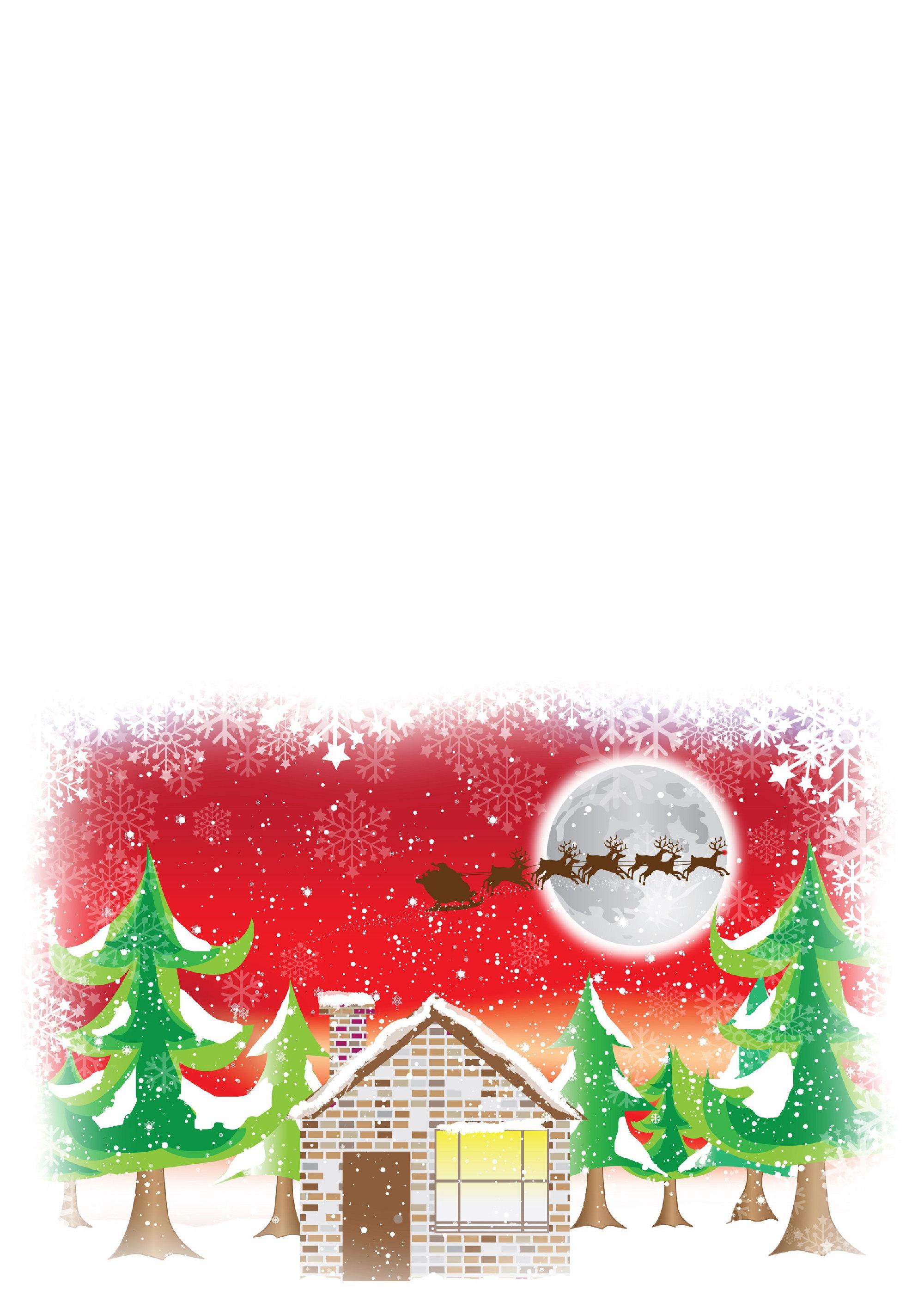 postales navidad imprimir 8