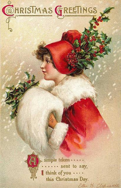 postales navidad vintage 01