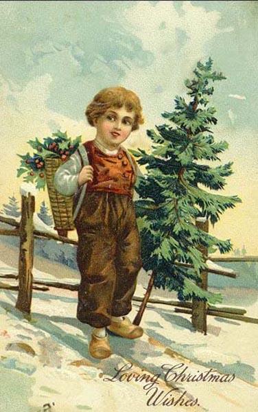 postales navidad vintage 03