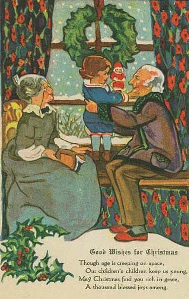 postales navidad vintage 08