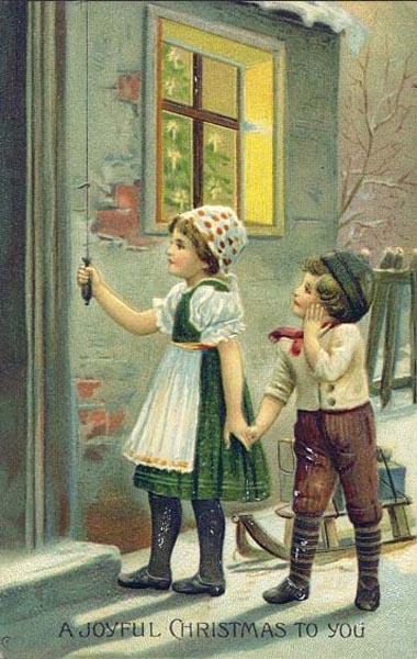 postales navidad vintage 09