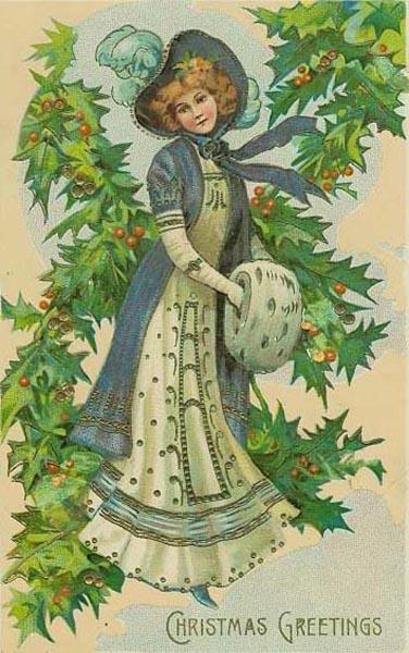 postales navidad vintage 10