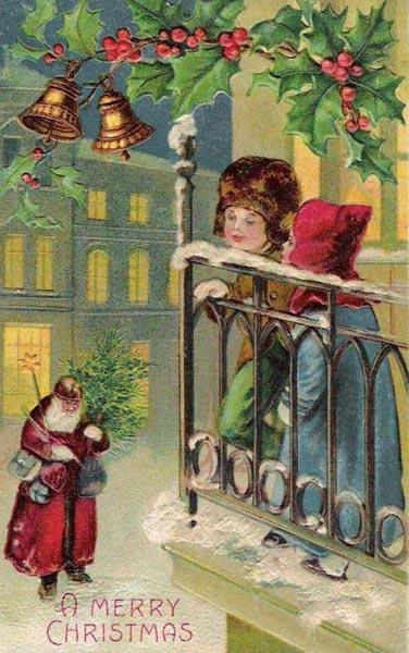 postales navidad vintage 11