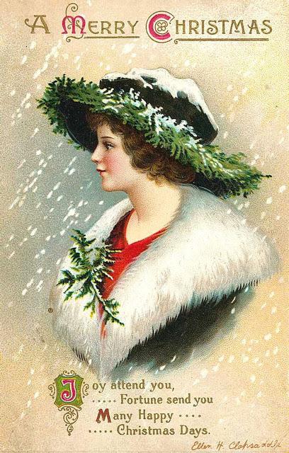 postales navidad vintage 12