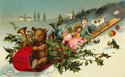 postales navidad vintage 17