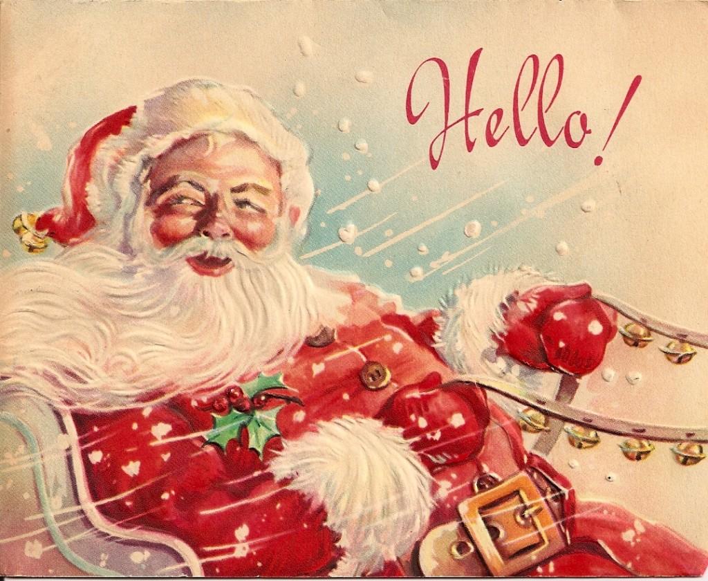postales navidad vintage 20