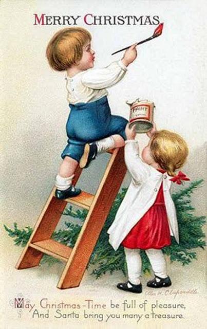 postales navidad vintage 24