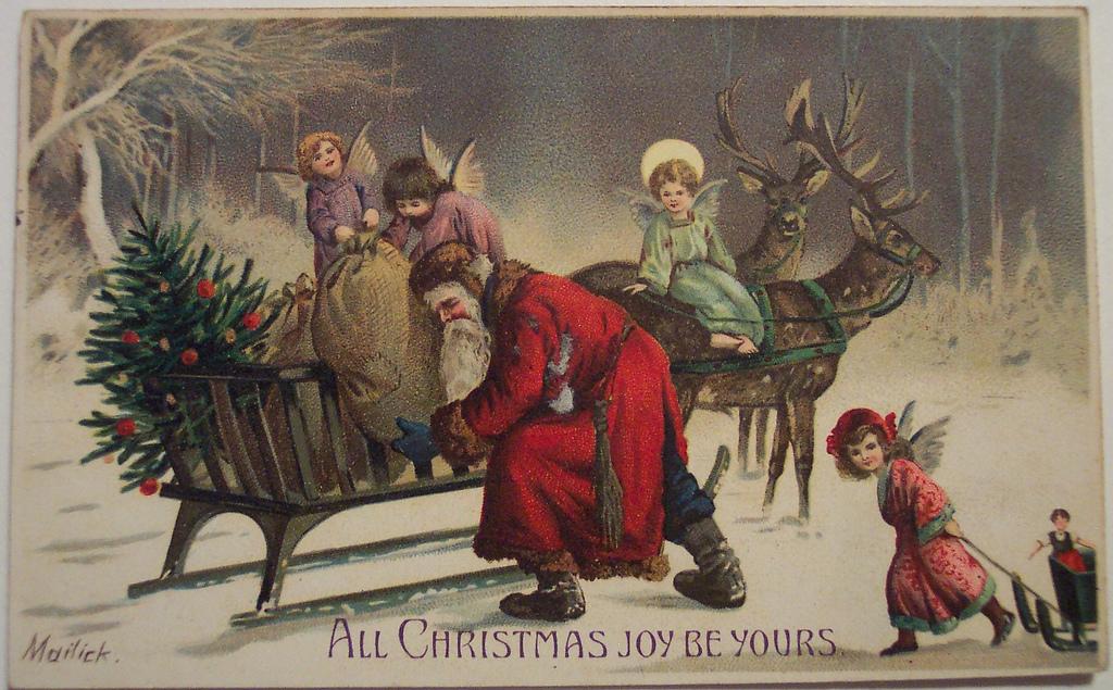 postales navidad vintage 25