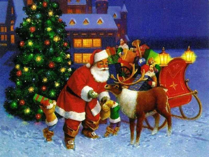 postales navidad vintage 37