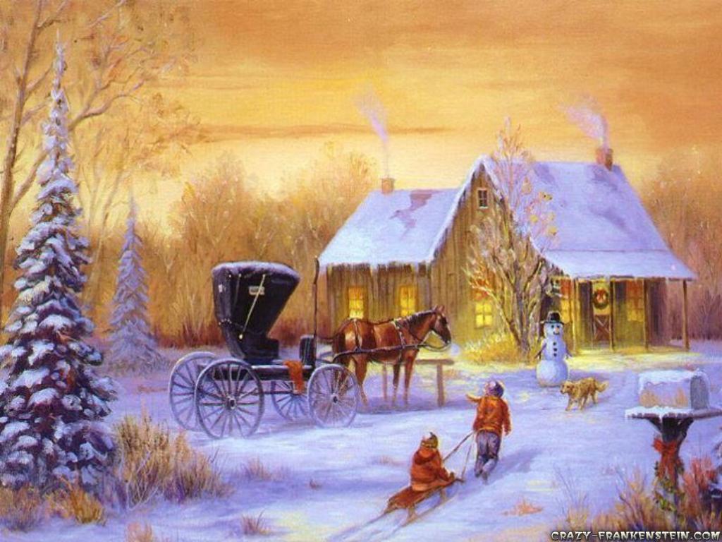 postales navidad vintage 39