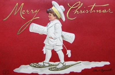 postales navidad vintage 42