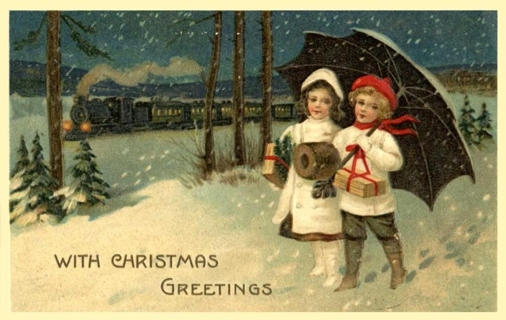 postales navidad vintage 44